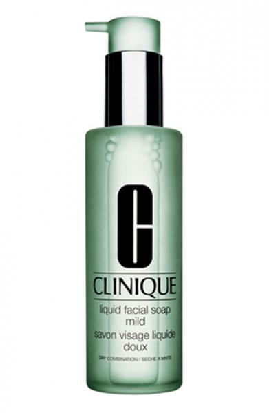 Clinique сверхмягкое жидкое мыло для лица для сухой и очень сухой кожи